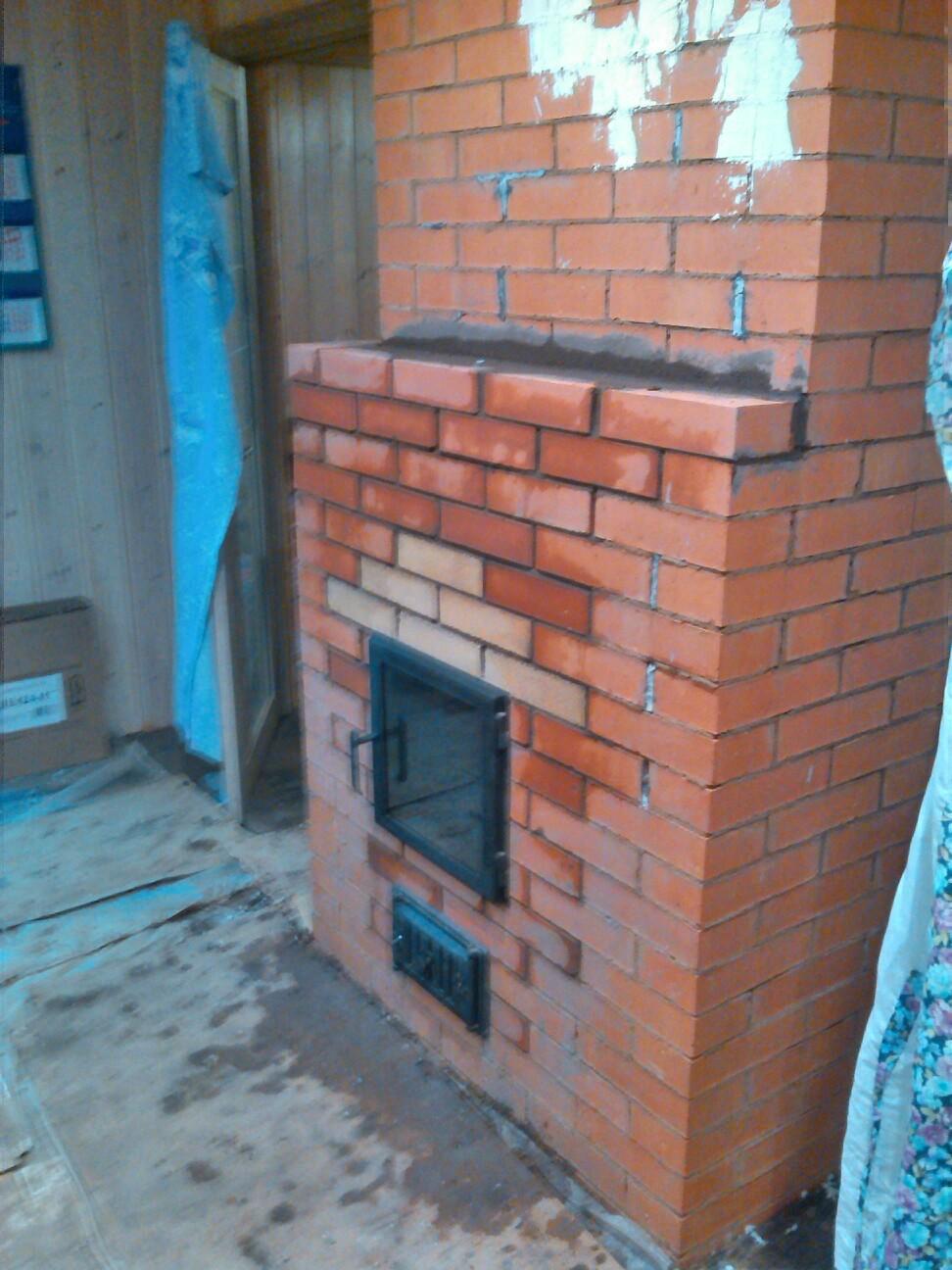 Печь после ремонта