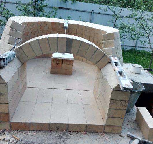 Строительство помпейской печи