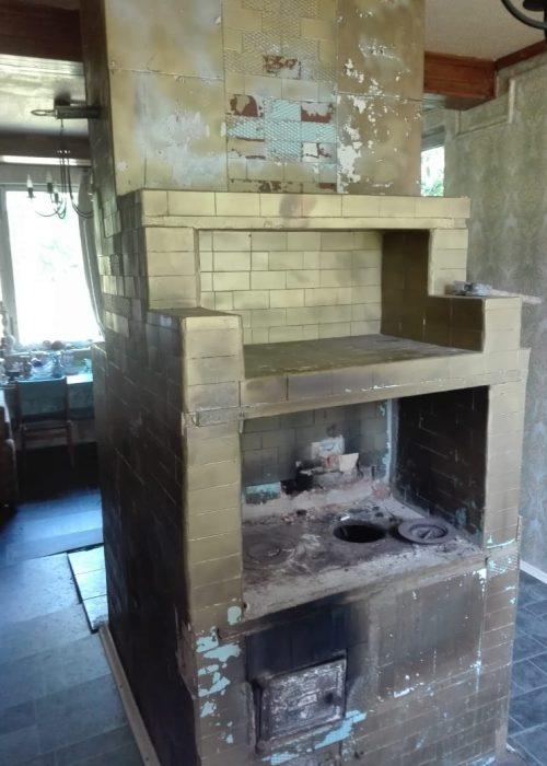старая печь
