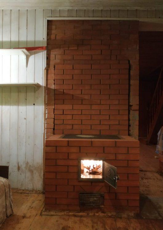 Кирпичная печь до ремонта (Печной Доктор)3