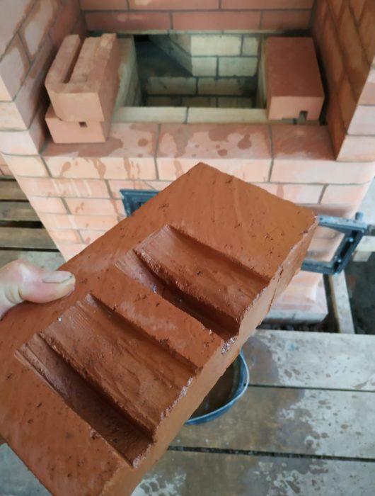 Строительство кирпичной печи голландка (компания Печной Доктор)